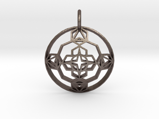 Seal Of Evolution (Domed) in Stainless Steel