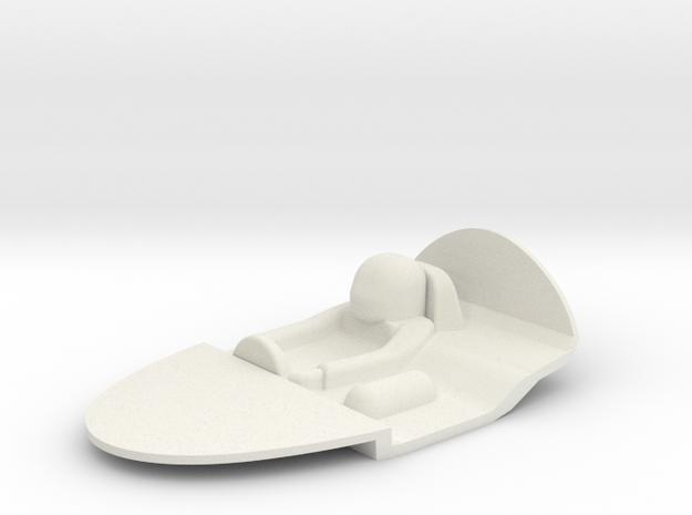 1:24 INTERIOR ALFA ROMEO SE048 ABITACOLO in White Natural Versatile Plastic