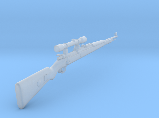 Kar98K ZF39 (1:18 scale) in Frosted Ultra Detail: 1:18
