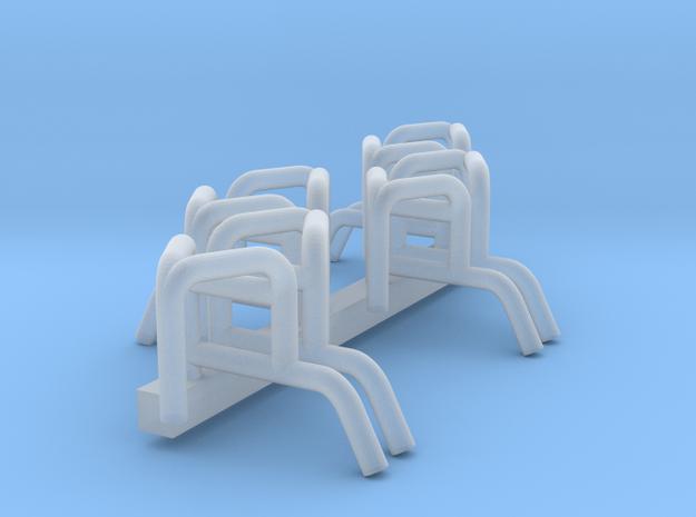 8x Astabweise Unimog  in Smooth Fine Detail Plastic