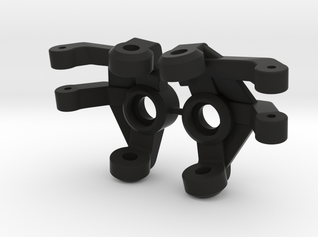 NCYota Double Shear Knuckle Set in Black Natural Versatile Plastic