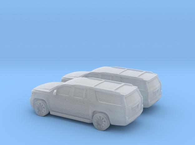 1/285 2X 2015 Chevrolet Suburban in Smooth Fine Detail Plastic