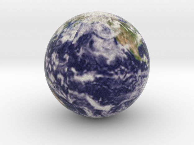 Earth with Cloud Cover