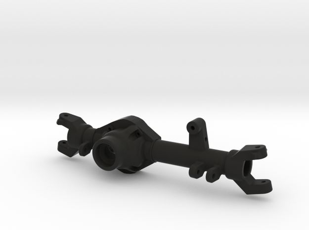 TMX Offroad Axle - Front Jeep Skeleton in Black Natural Versatile Plastic