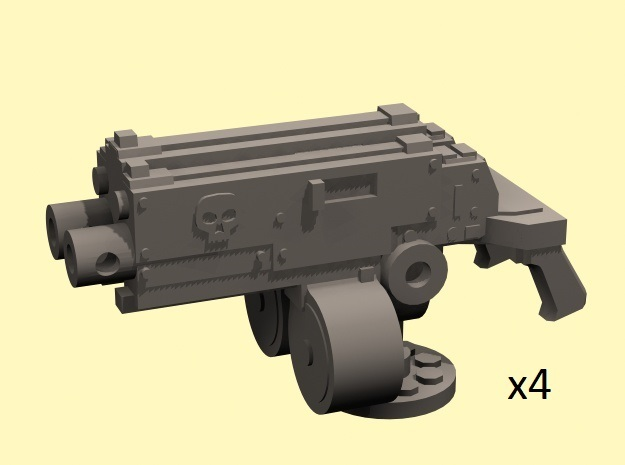 28mm combination gyroject guns for APC