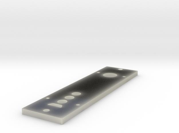 face plate acrylic box mod v1 in Transparent Acrylic