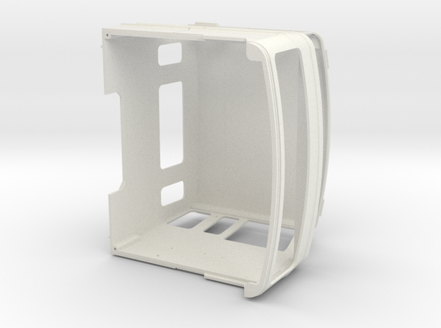 FTF cab, long, scale 1:24 in White Natural Versatile Plastic