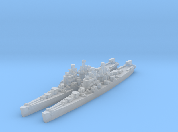 Cleveland class in Smooth Fine Detail Plastic