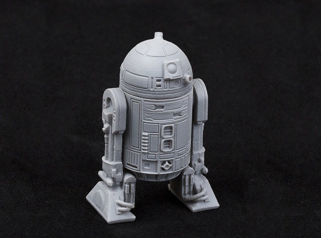 Astromech Droid 1/24 Scale in Frosted Ultra Detail