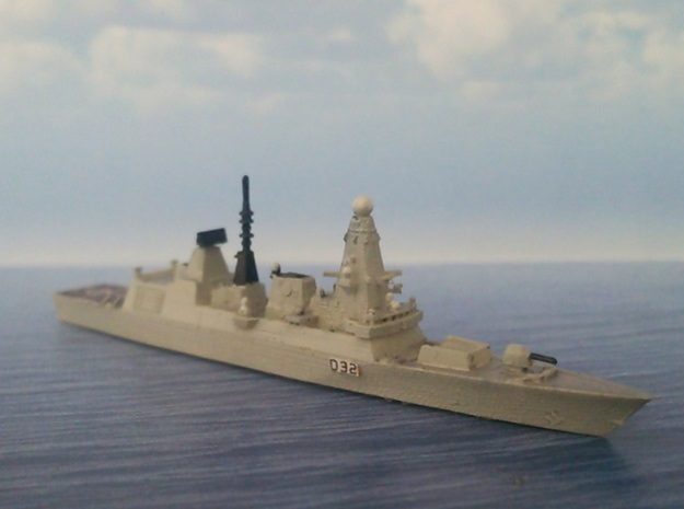 1/2000 HMS Daring in Smooth Fine Detail Plastic