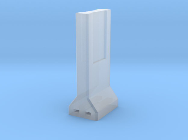 Concrete Retaining Wall (Single) in Smooth Fine Detail Plastic