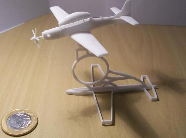 003B Super Tucano with Base 1/144 in White Strong & Flexible