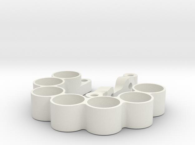 3D weight holder neg offset for marg stee kit 1 si in White Natural Versatile Plastic