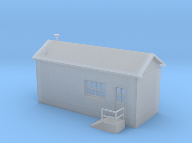 'N Scale' - Yard Manager Building in Smooth Fine Detail Plastic