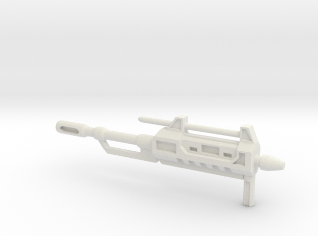 King of the Road's Blaster Redux in White Natural Versatile Plastic