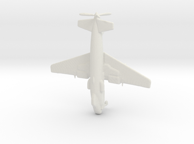 1:285 Bv P.193 (Gear Down) in White Natural Versatile Plastic