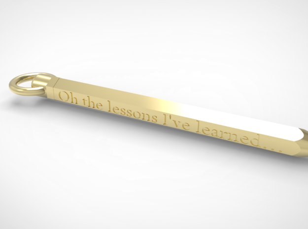 Oh the Lessons I've Learned in 14k Gold Plated: Medium