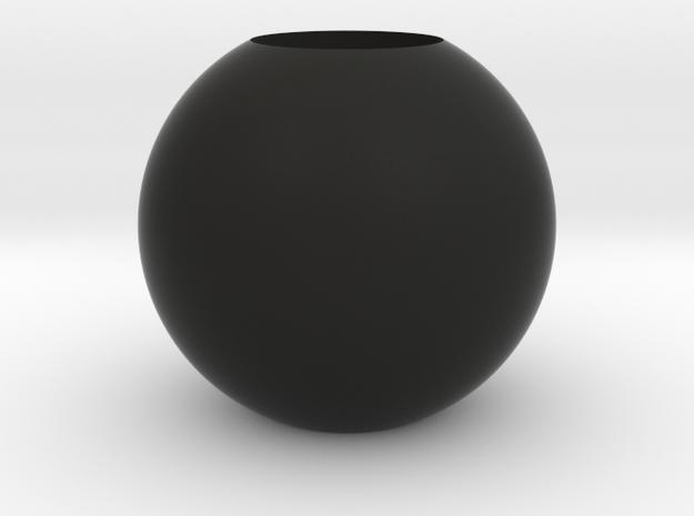 Acoustic Sphere 50mm (22mm mic) in Black Natural Versatile Plastic