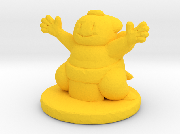 sumo in Yellow Strong & Flexible Polished