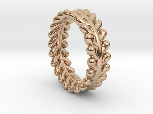 Wreath Ring No.1 - Size 6 in 14k Rose Gold