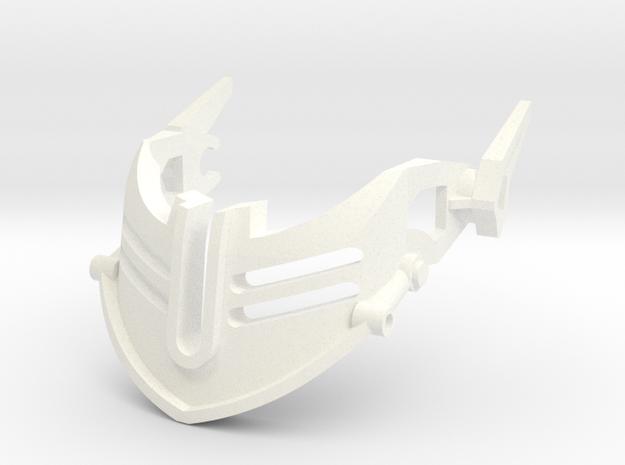 Alkon Extension in White Processed Versatile Plastic
