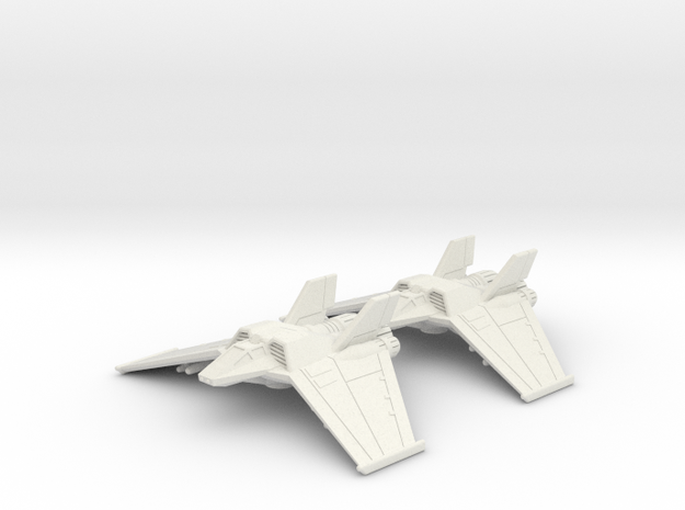 Tauri F/A-302c Flight: 1/270 scale in White Strong & Flexible
