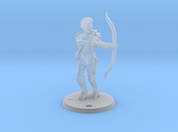 Jasmin Raider Archer in Smooth Fine Detail Plastic