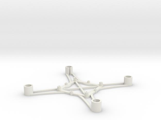 ST_drone_frame_v1_r6_btm_t2025+ in White Strong & Flexible