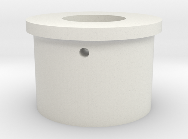 "Neopixel Blade Plug 1"" KR in White Natural Versatile Plastic"