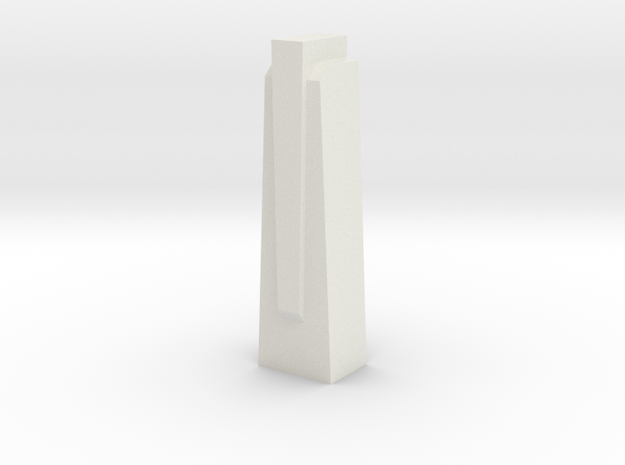 Triple Underpass East Wing Wall Cap in White Strong & Flexible