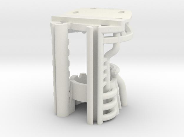 Korbanth / Parks K4 - Master Chassis Part2 in White Natural Versatile Plastic