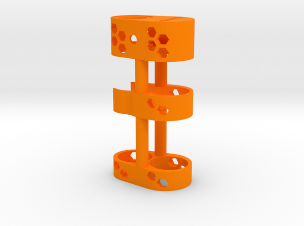 SwedishVaper SquonkER Grip 2  in Orange Strong & Flexible Polished