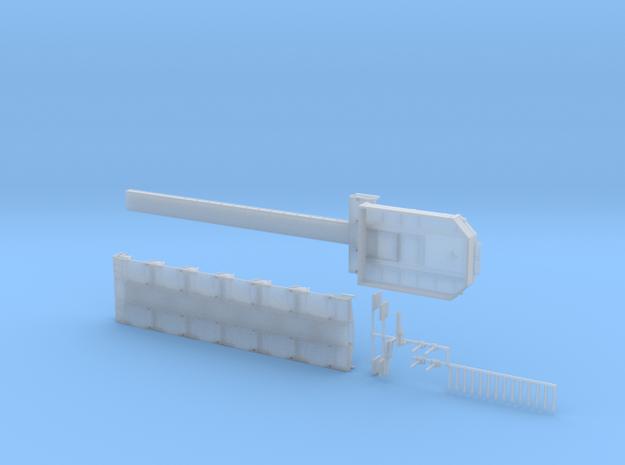 MPA 09 Tieflader ähnlich Goldhofer 6 Achs  in Smooth Fine Detail Plastic