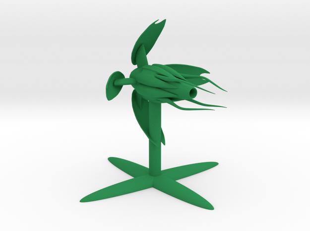 Vorlon - Fighter (2.646 x / 2.564 y / 2.404 z) in Green Processed Versatile Plastic