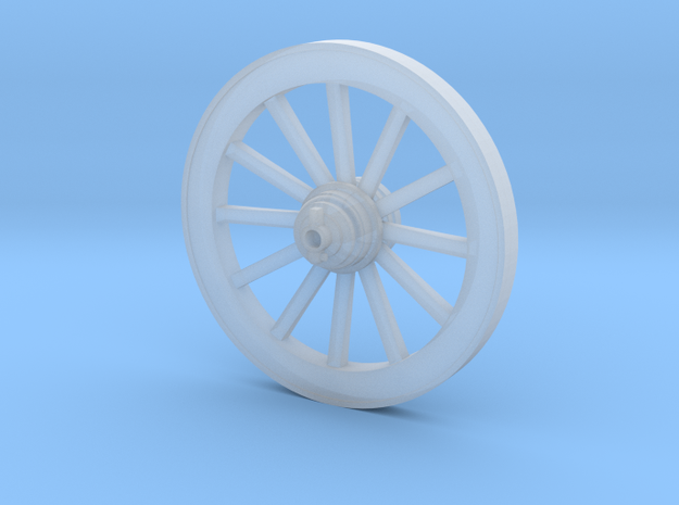 W04.2 Wurttemberg Limber wheel in Smooth Fine Detail Plastic