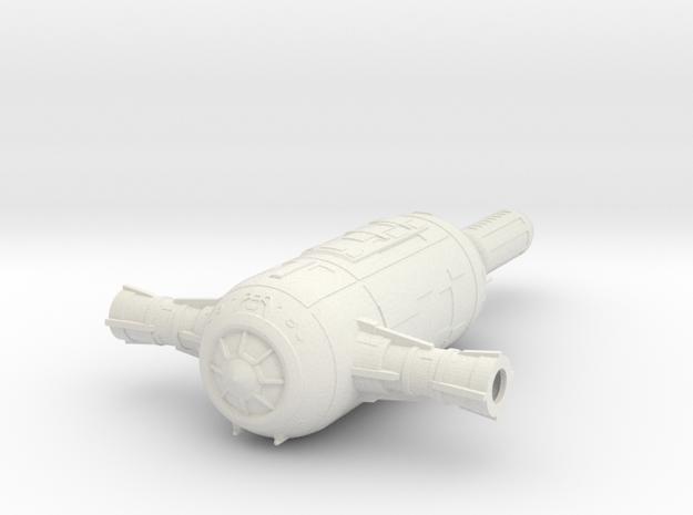 Experimental 4 in White Natural Versatile Plastic