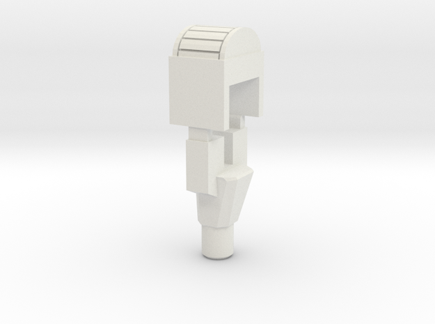 Handle & Filler for TR Highbrow in White Natural Versatile Plastic