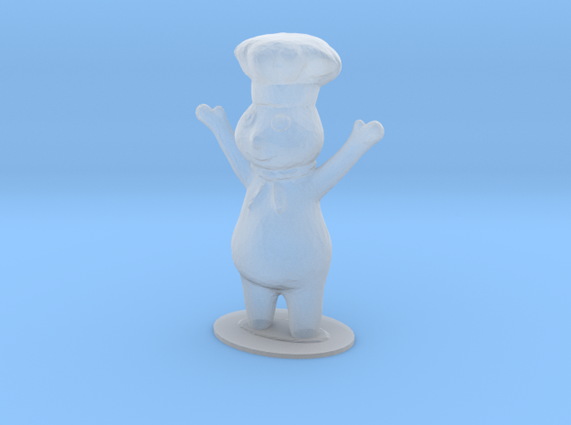 Dough Boy Figure in Smoothest Fine Detail Plastic: 1:64 - S