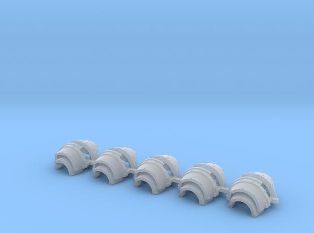 Blank cataphractii Shoulders Left Side - Rebuilt 0