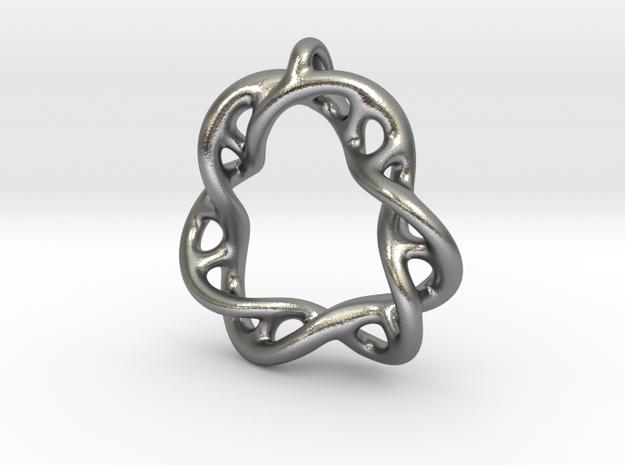 30th Anniversary Pendant in Raw Silver