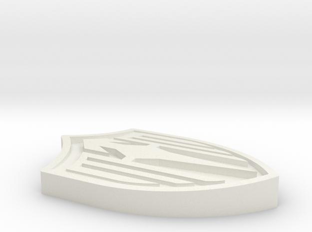 Lucina Clasp Solid in White Natural Versatile Plastic
