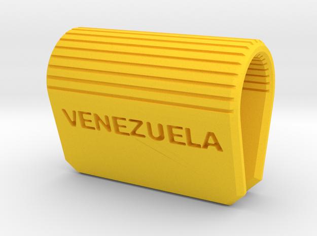 Tapa Webcam Security Cover Venezuela in Yellow Processed Versatile Plastic