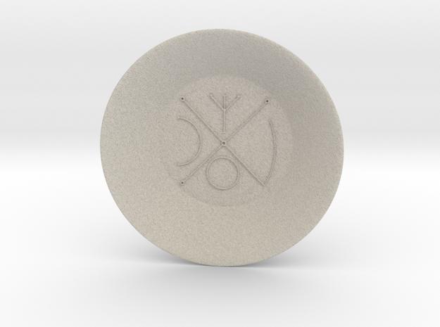 Seal of Venus Charging Bowl (large) in Natural Sandstone