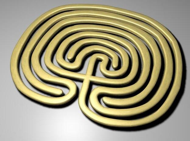 maze 3d printed Description