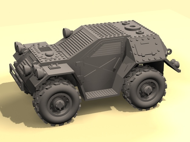 28mm Taman 4x4 recon car