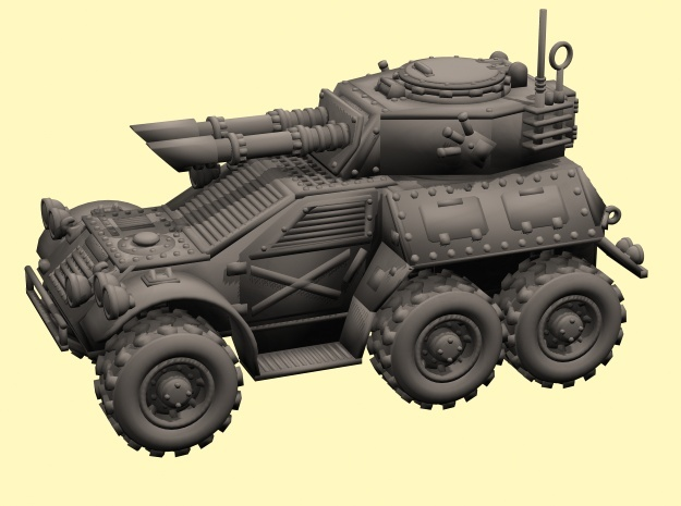 28mm 6x6 Taman Mk.B recon car