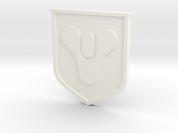 Destiny Sigil in White Processed Versatile Plastic