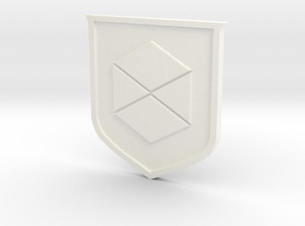 Titan Sigil in White Processed Versatile Plastic