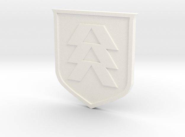 Hunter Sigil in White Processed Versatile Plastic