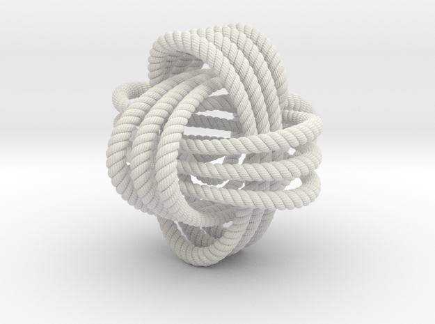 Monkey's fist knot (Rope with detail)
